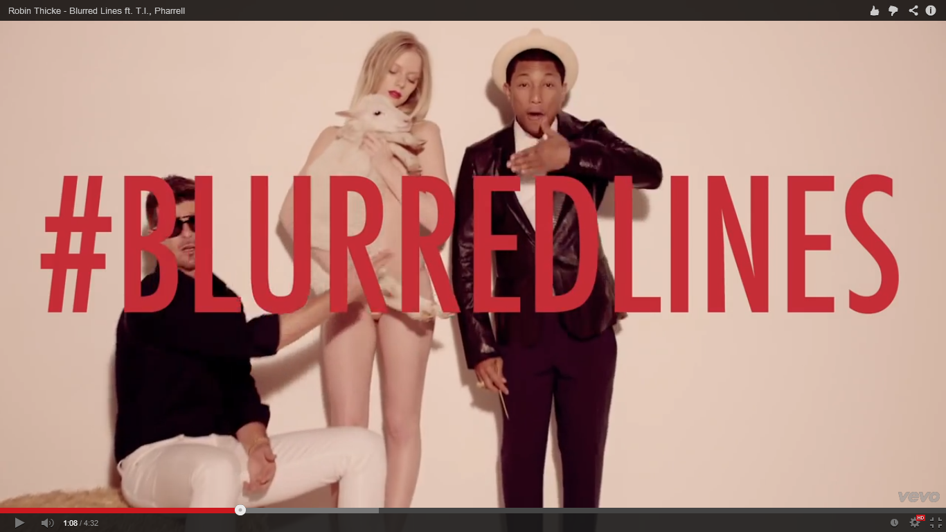 "Why is ""Blurred Lines"" so popular? 