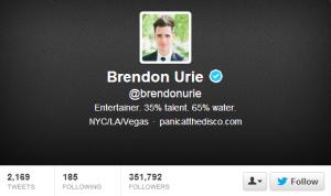 www.twitter.com/brendonurie